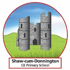Shaw-cum-Donnington C. E. (VC)  Primary School logo